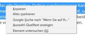 HTML-Quellcode in Firefox anzeigen