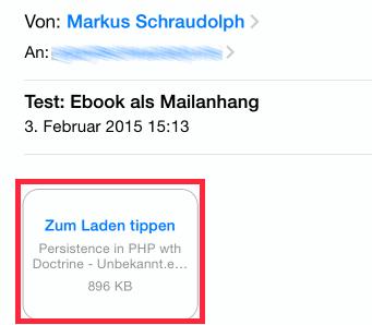 eBook per Email übertragen