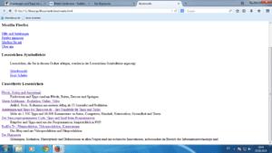 Die Lesezeichen als HTML-File
