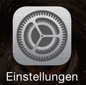 iPhone Emoji: Einstellungen oeffnen
