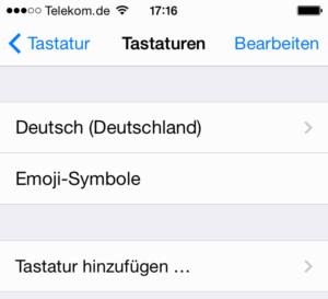 iPhone Emoji: Emoticon-Tastatur ist hinzugef?gt