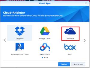 Auswahl Cloud-Anbieter