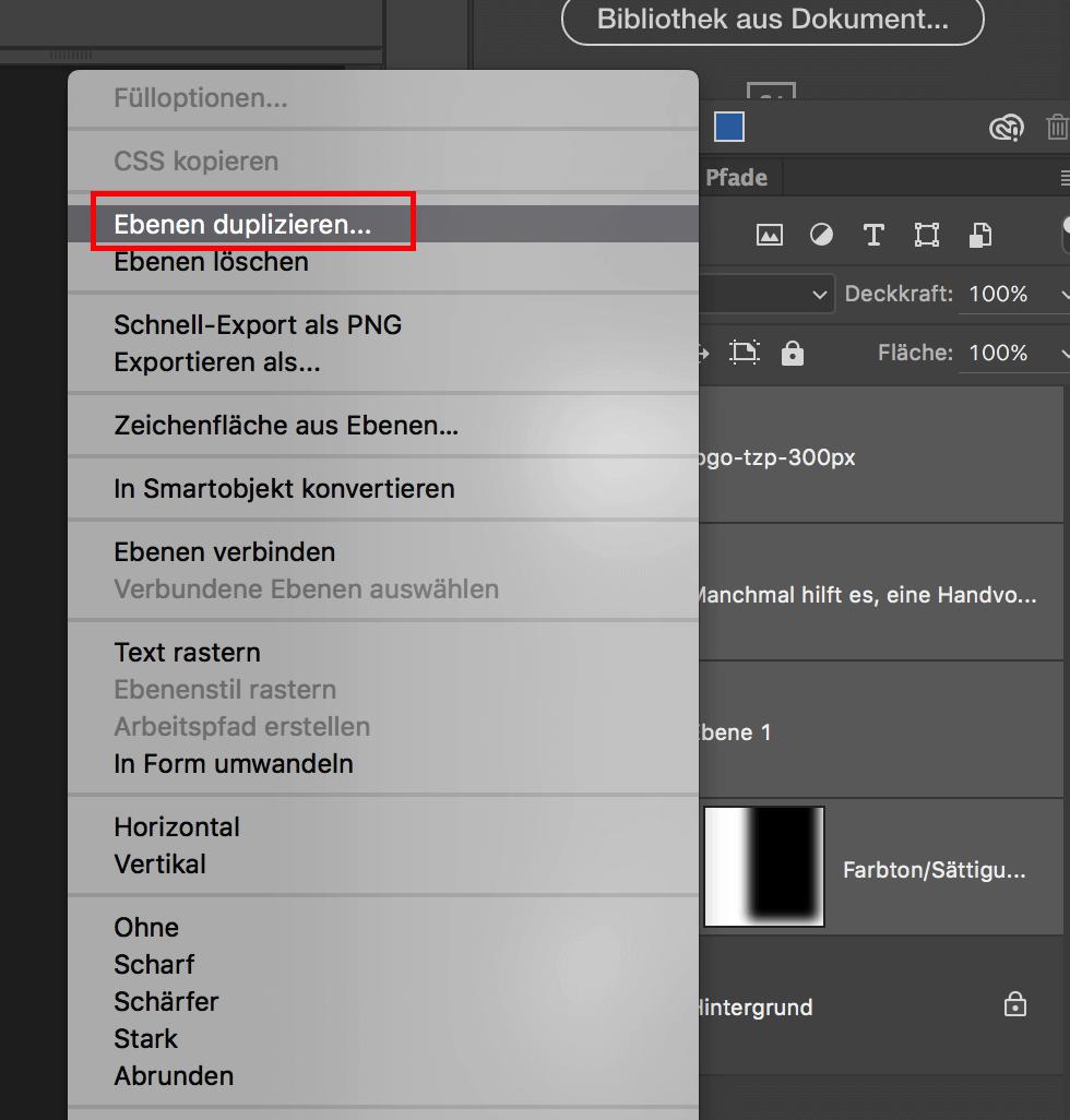 Photoshop: Ebenen in ein anderes Bild kopieren | Tippscout.de