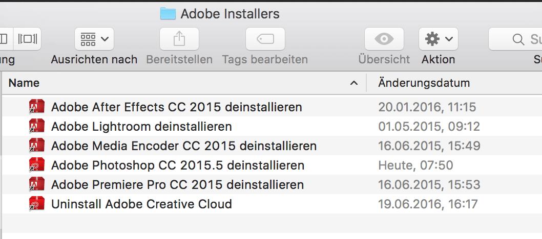 Adobe Programme deinstallieren vom Mac - so geht's ganz
