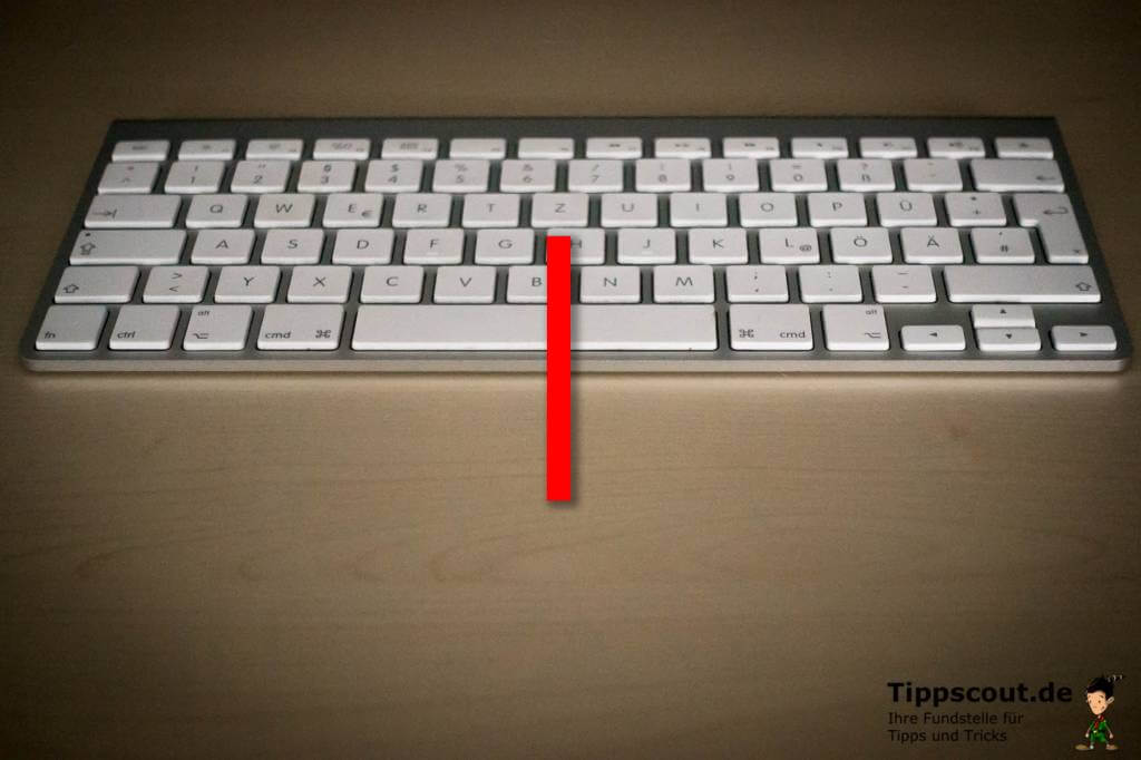 Was ist slash auf der tastatur