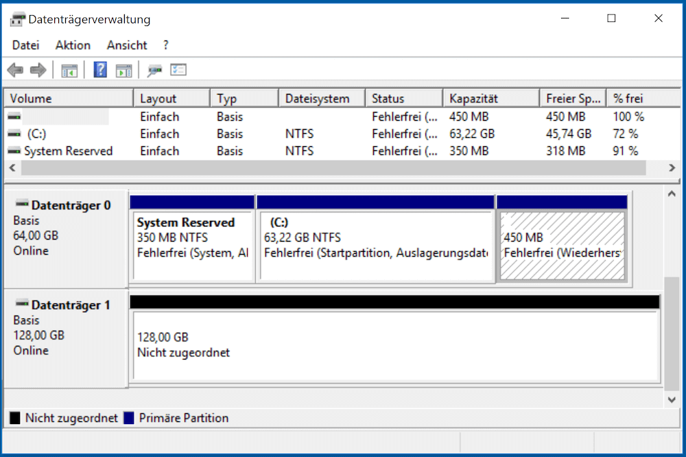 Windows: Datenträgerverwaltung öffnen - so geht's ...