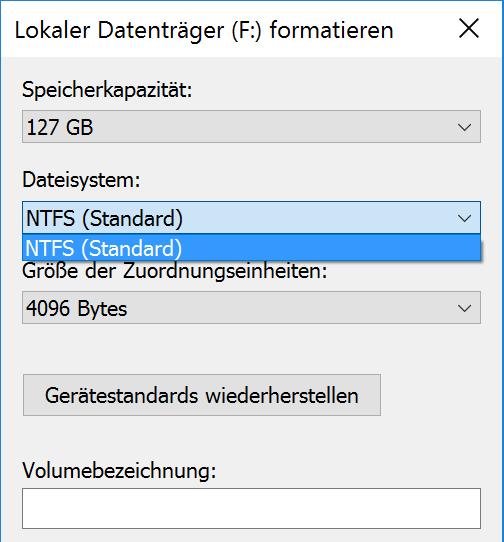 Sd Karte Formatieren Fat32.Windows Festplatte Mit Fat32 Formatieren Tippscout De