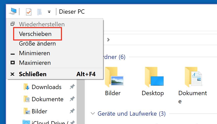windows fenster verschieben per tastatur so geht 39 s