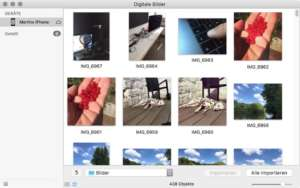 Fotos kopieren mit Digitale Bilder