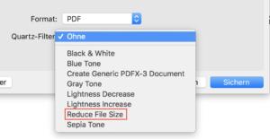 PDF-Datei verkleinern mit Reduce File Size