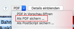 PDF-Dateien zusammenfügen mit der Druckfunktion
