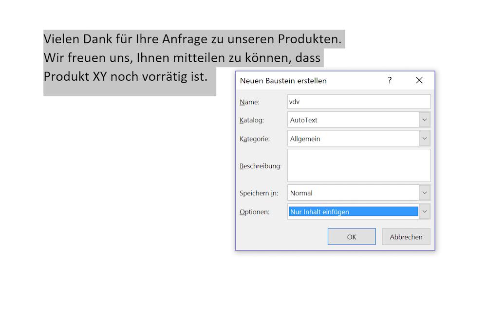 Word Textbausteine Erzeugen So Schnell Gehts Tippscoutde