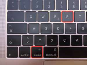 Registered Trademark Shortcut auf Tastatur