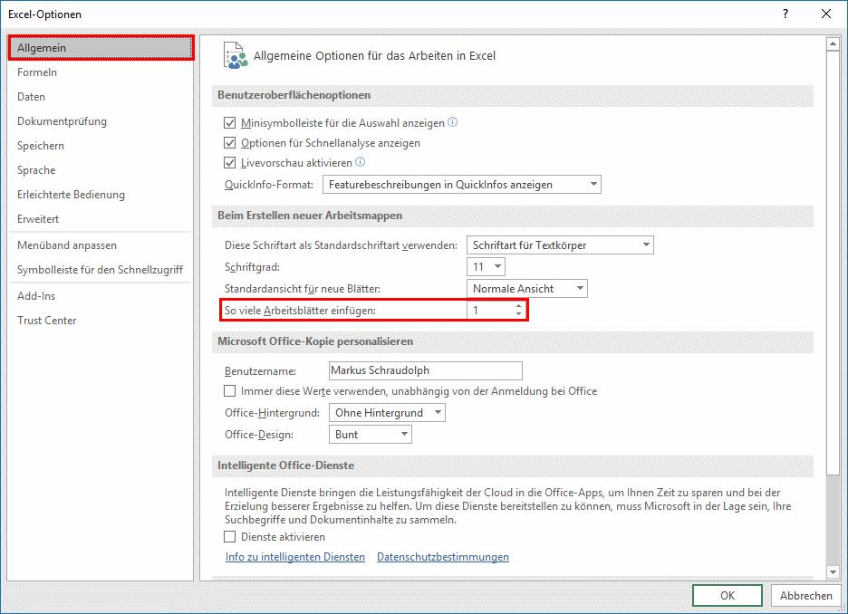 Excel: Grundlagen Register - mehrere Arbeitsblätter nutzen ...