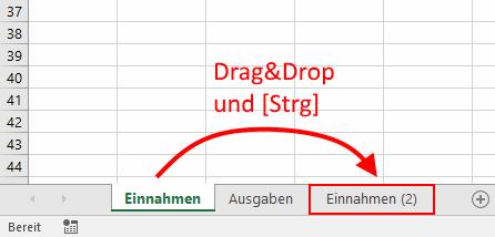 Excel-Arbeitsblatt in andere Datei kopieren oder verschieben ...