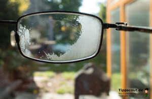 Spülmittel gegen beschlagene Brille