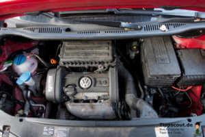 Motorraum VW Caddy