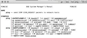 Ping basiert auf ICMP