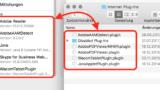 Safari-Plugins löschen in der Library