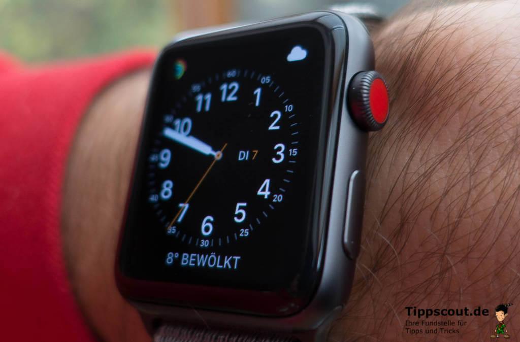 Apple watch das bedeutet der rote punkt auf dem display for Roter punkt