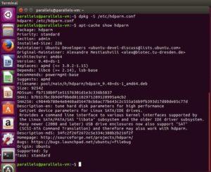 Zu welchem Paket gehört die Datei Ubuntu