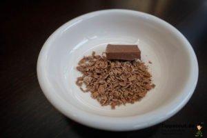 Heiße Schokolade selber machen.