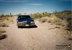 Mit dem Auto durch die Wüste reisen