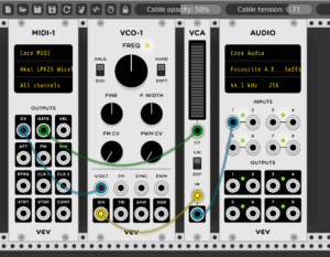 Einfaches MIDI-Setup mit Gate