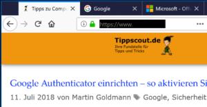 Firefox Tabs schließen
