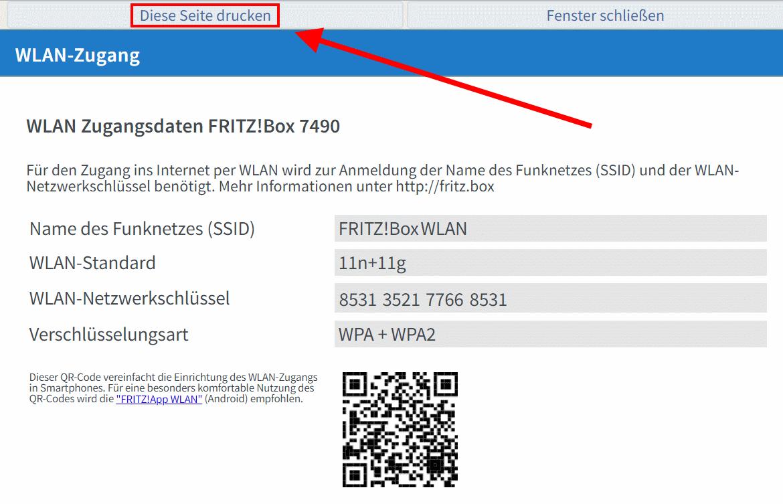 Fritz Box Wlan Qr Code
