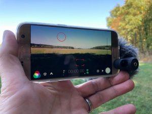 Filmen mit dem Samsung Galaxy S7