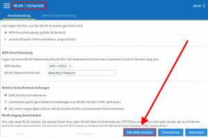 Fritzbox QR-Code Erzeugen