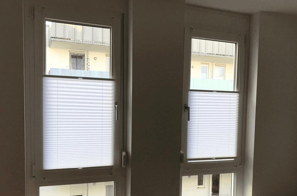 Extrem Sichtschutz: Klemmträger-Plissee anbringen | Tippscout.de YR57