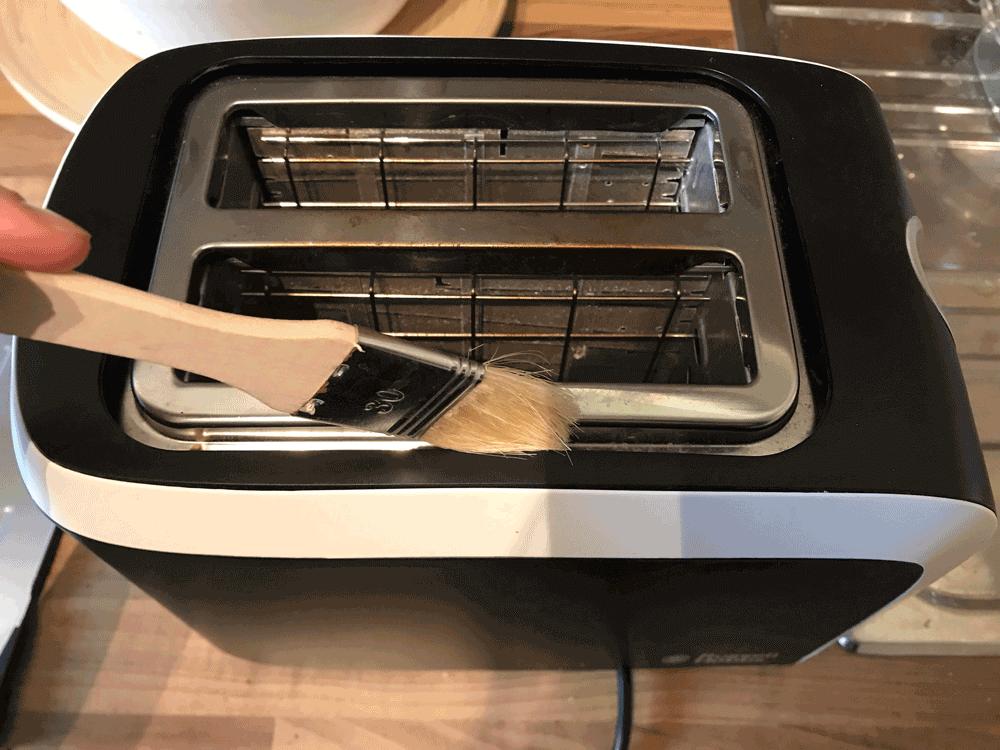 toaster reinigen