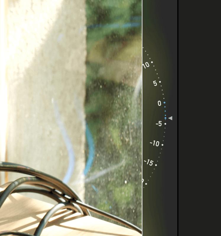 Apple Fotos Gradanzeige